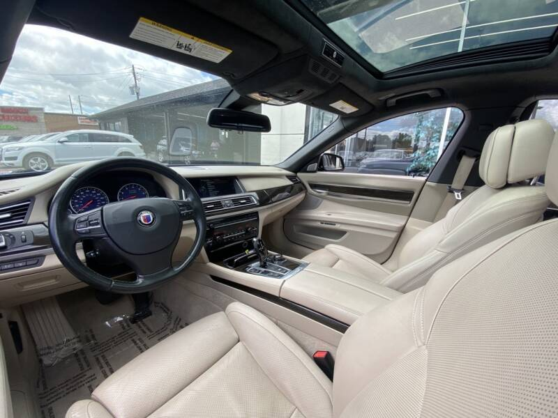 2013 BMW 7 Series 750i 4dr Sedan - Indianapolis IN