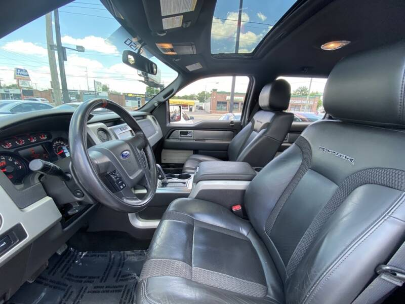 2012 Ford F-150 4x4 SVT Raptor 4dr SuperCrew Styleside 5.5 ft. SB - Indianapolis IN