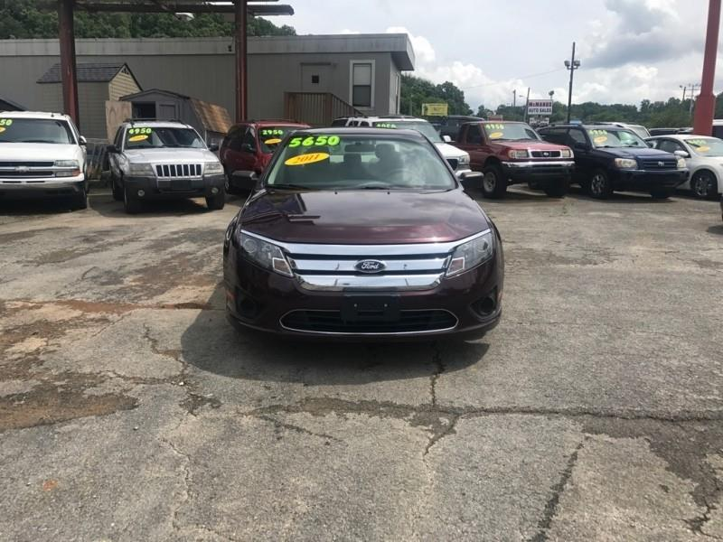 2011 Ford Fusion S 4dr Sedan - Knoxville TN