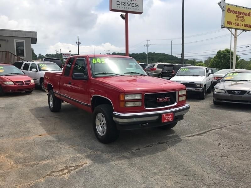 1999 GMC Sierra 1500 Classic Ext Cab 141.5\ WB 4WD - Knoxville TN