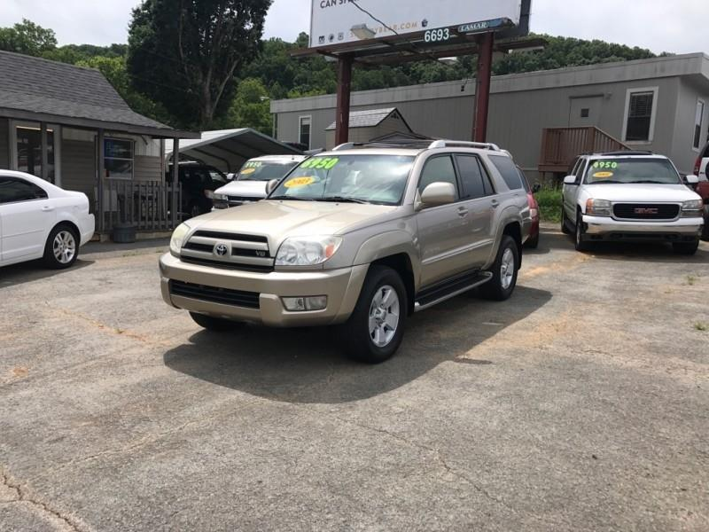 2003 Toyota 4Runner Limited 4WD 4dr SUV - Knoxville TN