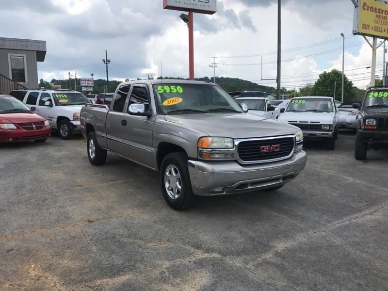 2002 GMC Sierra 1500 Ext Cab 143.5 WB 4WD SLT - Knoxville TN