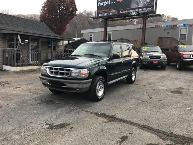 1996 Ford Explorer AWD XLT 4dr SUV - Knoxville TN