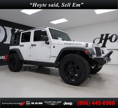 2015 Jeep Wrangler Unlimited for sale in Sherman, TX