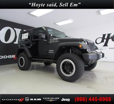 2017 Jeep Wrangler for sale in Sherman TX