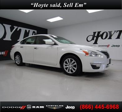 2013 Nissan Altima for sale in Sherman, TX