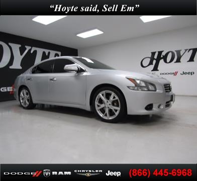 2012 Nissan Maxima for sale in Sherman, TX