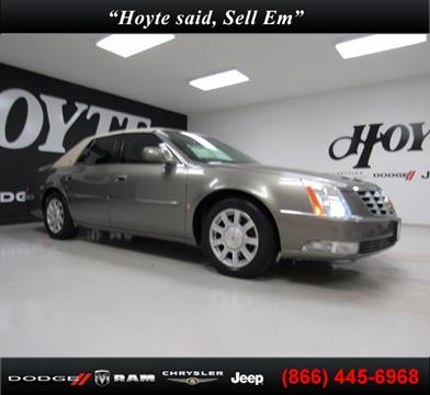 2010 Cadillac DTS for sale in Sherman, TX
