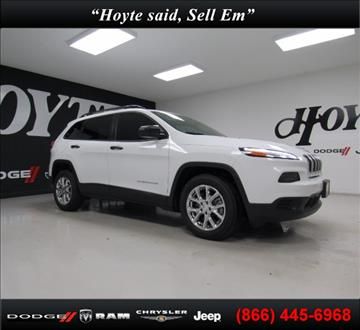 2017 Jeep Cherokee for sale in Sherman, TX