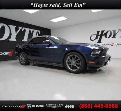 2012 Ford Mustang for sale in Sherman TX