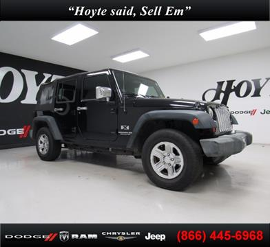 2009 Jeep Wrangler Unlimited for sale in Sherman TX