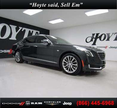 2016 Cadillac CT6 for sale in Sherman TX