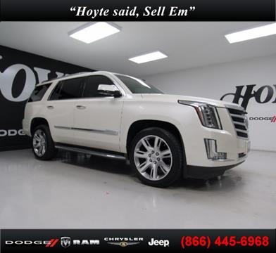 2015 Cadillac Escalade for sale in Sherman TX