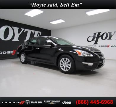 2015 Nissan Altima for sale in Sherman, TX