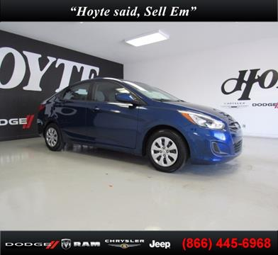 2015 Hyundai Accent for sale in Sherman, TX