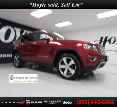 2015 Jeep Grand Cherokee for sale in Sherman, TX