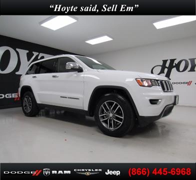 2017 Jeep Grand Cherokee for sale in Sherman TX