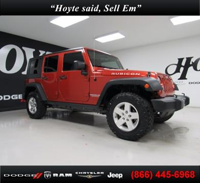2009 Jeep Wrangler Unlimited for sale in Sherman, TX
