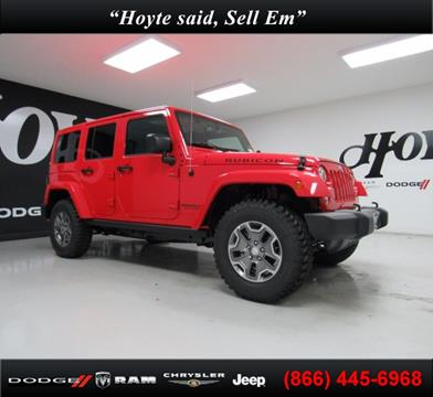 2017 Jeep Wrangler Unlimited for sale in Sherman, TX