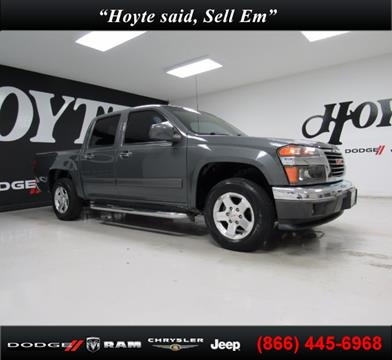 2012 GMC Canyon for sale in Sherman, TX