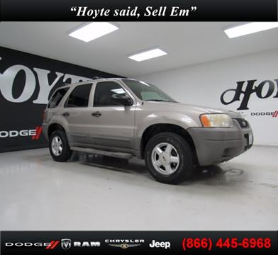 2001 Ford Escape for sale in Sherman TX