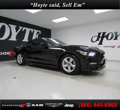 2015 Ford Mustang for sale in Sherman, TX