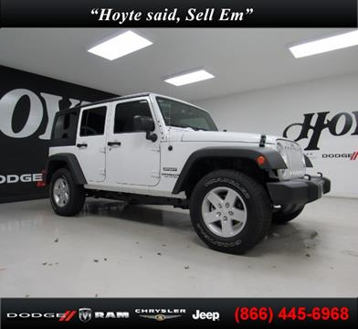 2017 Jeep Wrangler Unlimited for sale in Sherman TX