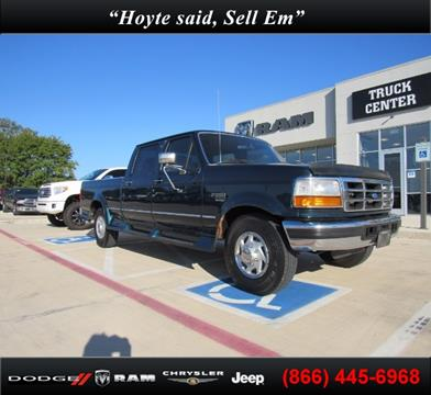 1996 Ford F-250 for sale in Sherman TX