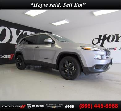 2018 Jeep Cherokee for sale in Sherman, TX