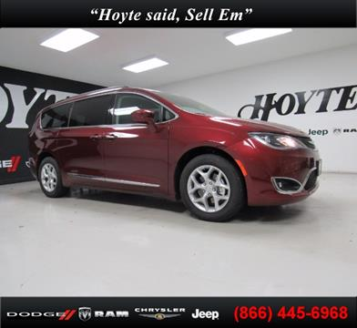 2017 Chrysler Pacifica for sale in Sherman TX