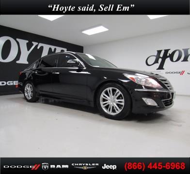 2014 Hyundai Genesis for sale in Sherman, TX