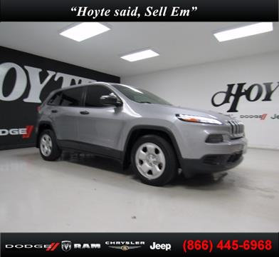 2015 Jeep Cherokee for sale in Sherman TX