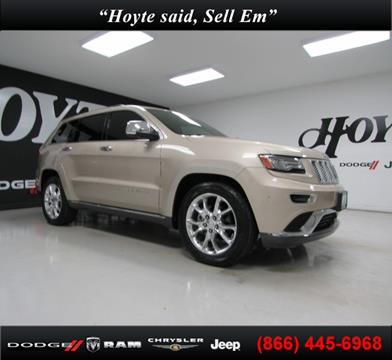 2014 Jeep Grand Cherokee for sale in Sherman TX