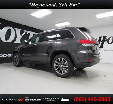 2018 Jeep Grand Cherokee for sale in Sherman TX