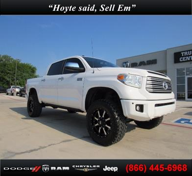 2015 Toyota Tundra for sale in Sherman TX
