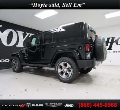 2018 Jeep Wrangler Unlimited for sale in Sherman TX