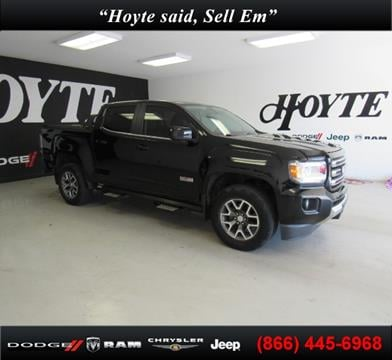 2015 GMC Canyon for sale in Sherman, TX