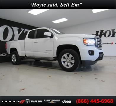 2016 GMC Canyon for sale in Sherman, TX