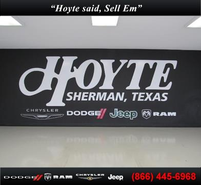 2017 Chrysler Pacifica for sale in Sherman, TX