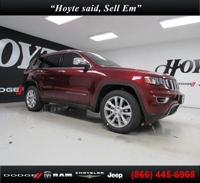 2017 Jeep Grand Cherokee for sale in Sherman, TX