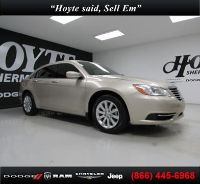 2013 Chrysler 200 for sale in Sherman TX