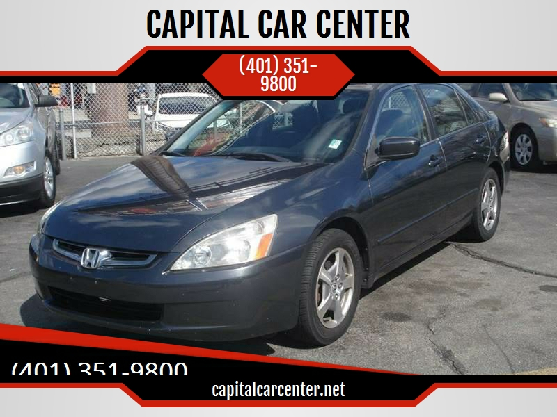 2005 Honda Accord For Sale At CAPITAL CAR CENTER In Johnston RI