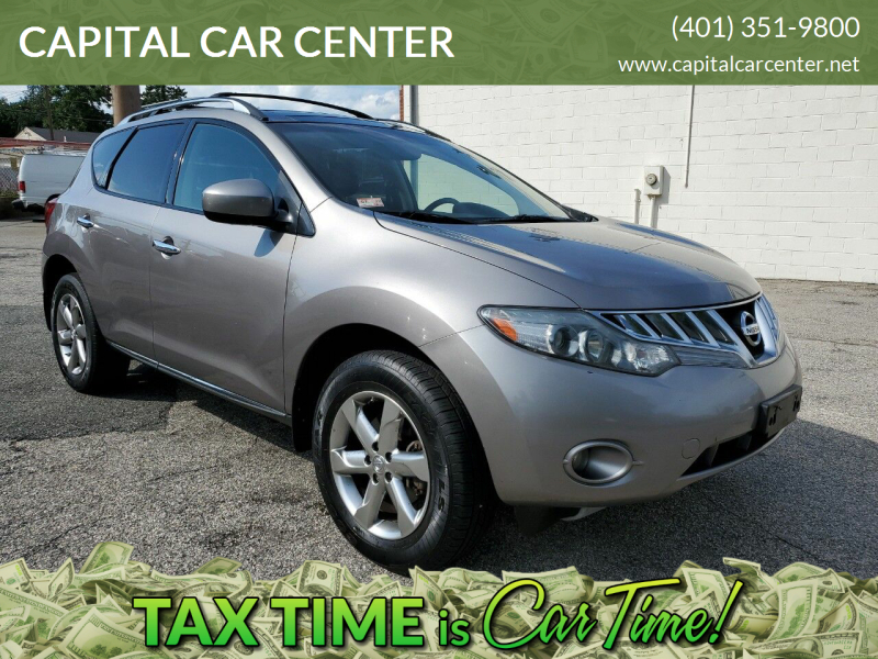 2010 Nissan Murano for sale at CAPITAL CAR CENTER in Providence RI