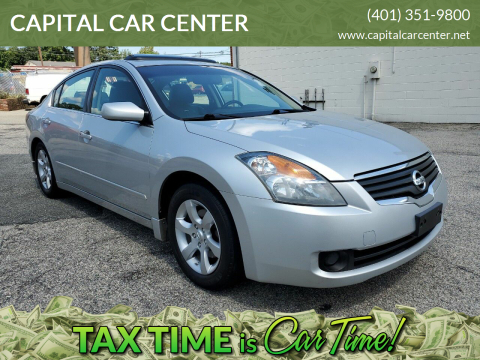 2008 Nissan Altima for sale at CAPITAL CAR CENTER in Providence RI