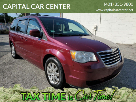 2008 Chrysler Town and Country for sale at CAPITAL CAR CENTER in Providence RI