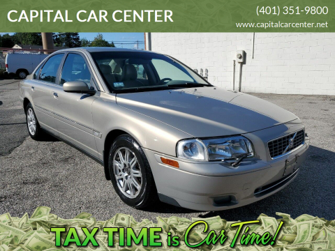 2005 Volvo S80 for sale at CAPITAL CAR CENTER in Providence RI