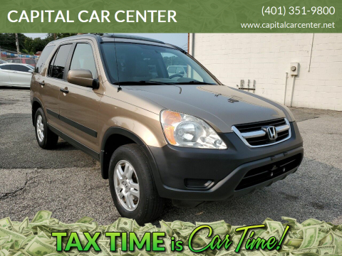 2004 Honda CR-V for sale at CAPITAL CAR CENTER in Providence RI