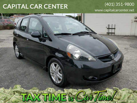 2008 Honda Fit for sale at CAPITAL CAR CENTER in Providence RI