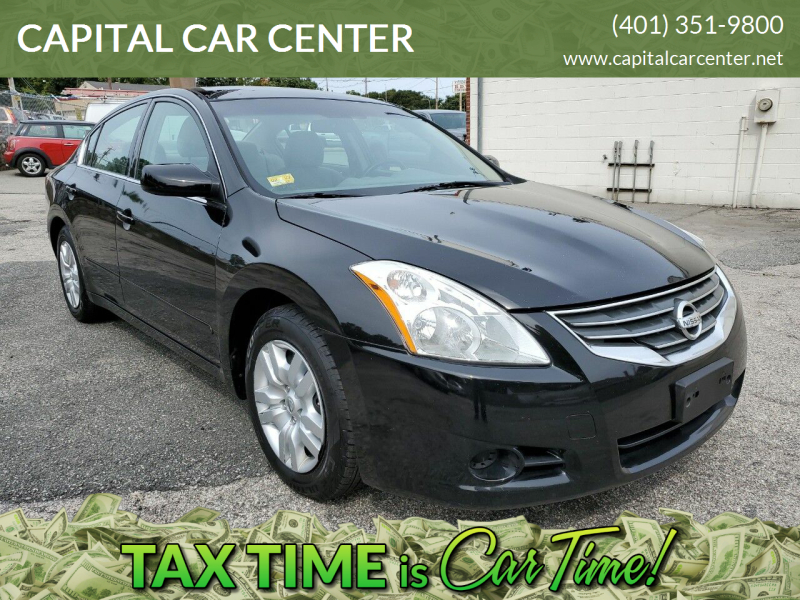 2010 Nissan Altima for sale at CAPITAL CAR CENTER in Providence RI