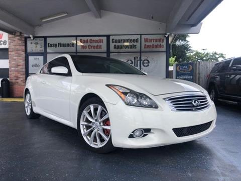 Infiniti Fort Lauderdale >> 2012 Infiniti G37 Coupe For Sale In Fort Lauderdale Fl
